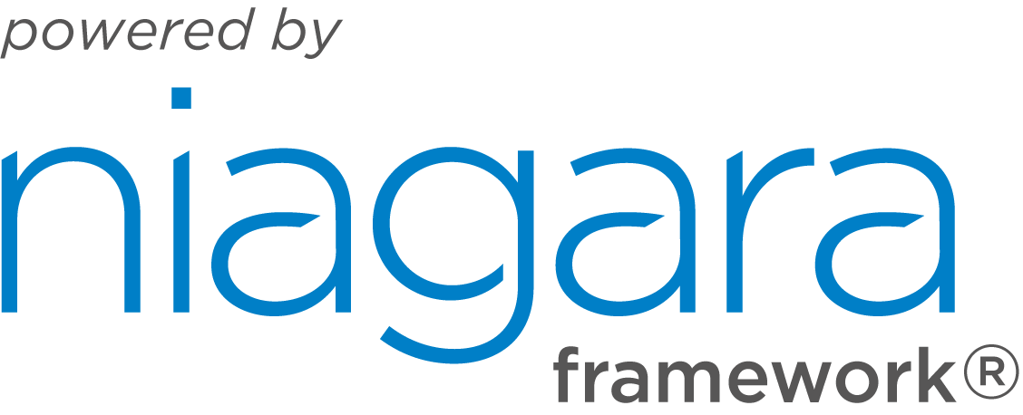Logo powered by niagara framework